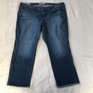 TORRID // Raw Hem Boyfriend Jeans Size 22
